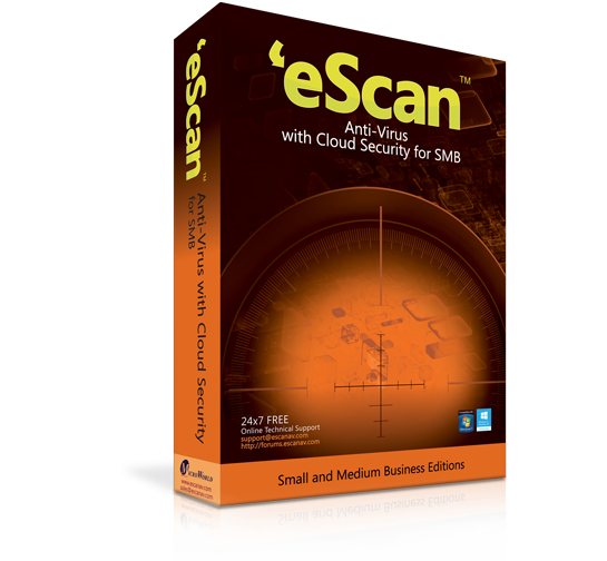 eScan Anti-Virus with Cloud Security for SMBs